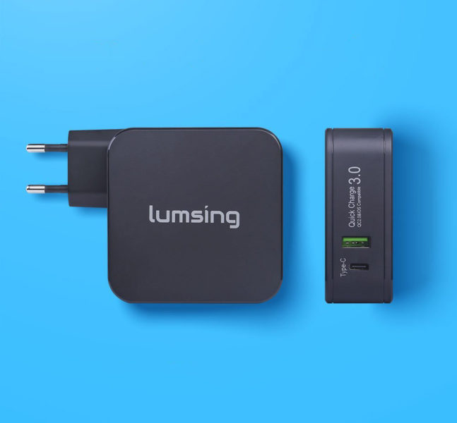 Lumsing Quick Charge Ladegerät