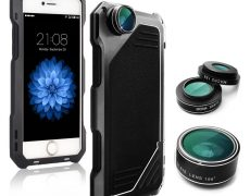 iPhone-Multifunktions-Handyhülle samt Kamera-Objektiv für 12,00€