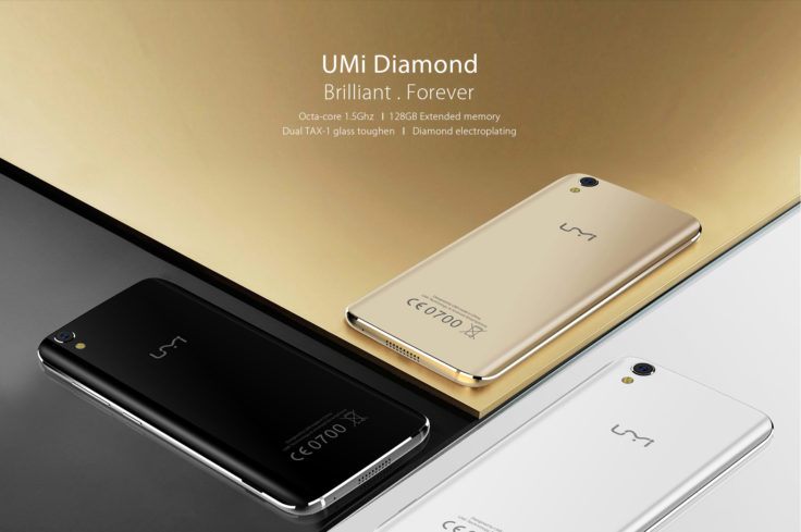 UMi Diamond Smartphone Design