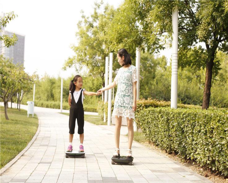 iCarbot Roboter-Skateboard Werbebild