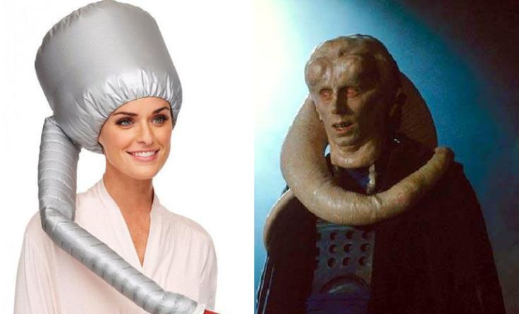 Star Wars Ähnlichkeit? Die DIY Trockenhaube