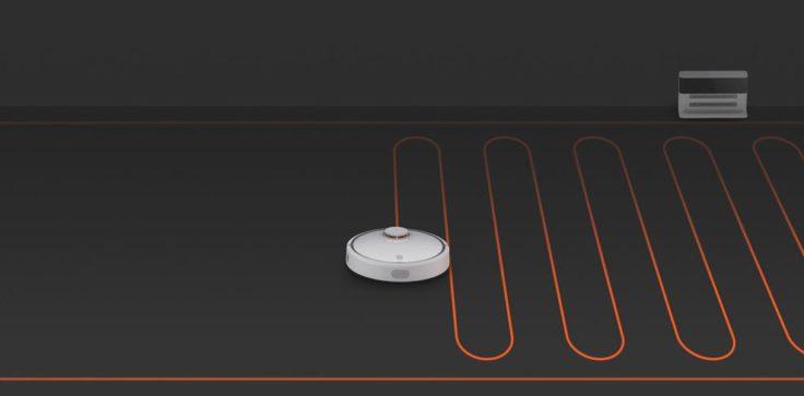 Xiaomi Staubsaugerroboter Saugmodi