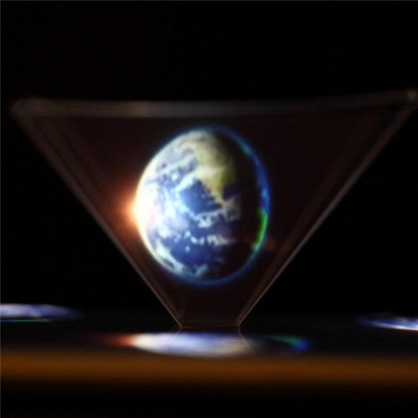 3D Holographischer Display Hologramm