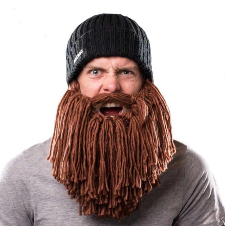 Wintermützen mit Bart