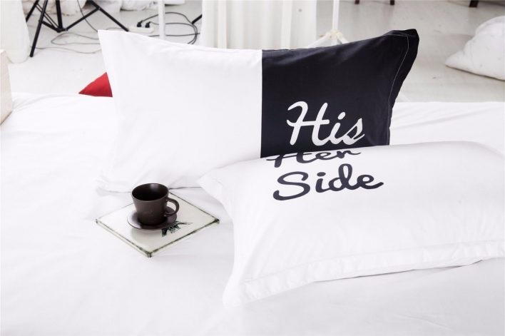 bettbezug his side her side f r 46 99. Black Bedroom Furniture Sets. Home Design Ideas