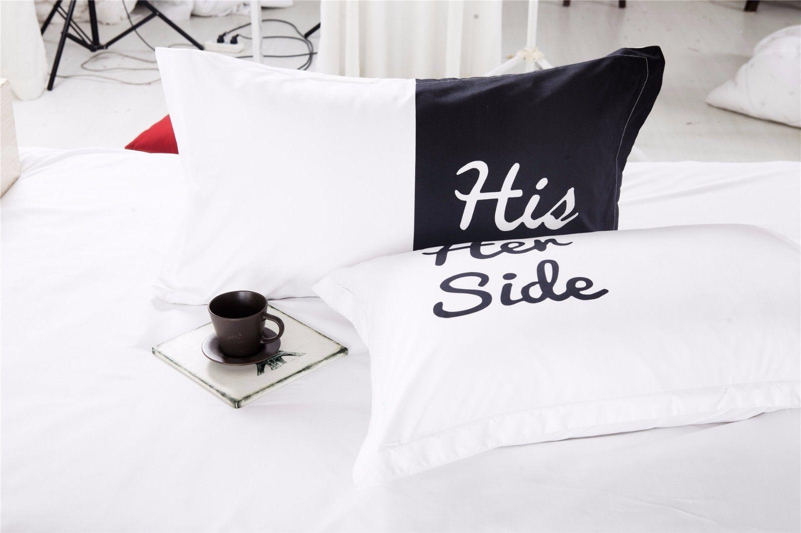Bettbezug His Side Her Side Endlich Klarheit Im Bett
