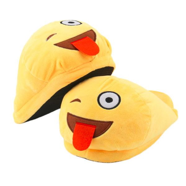 Emoji Pantoffeln Smiley