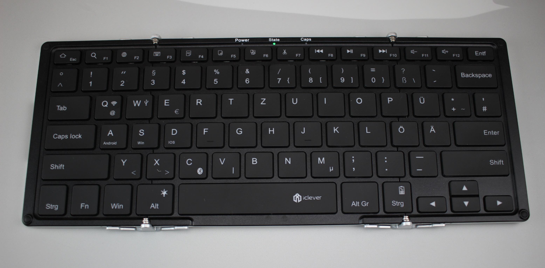 iClever Bluetooth Tastatur