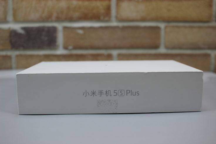 Xiaomi Mi 5S Plus Verpackung