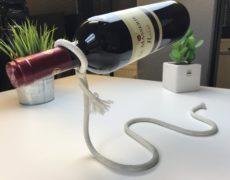 Weinflaschenhalter Seil