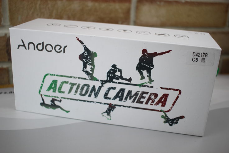 andoer-c5-pro-actioncam-Verpackung