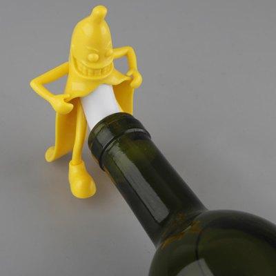 banane-mr-banana-weinflaschenverschluss-verschluss2