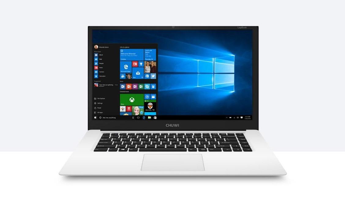 chuwi lapbook 15 6 zoll laptop mit windows 10. Black Bedroom Furniture Sets. Home Design Ideas
