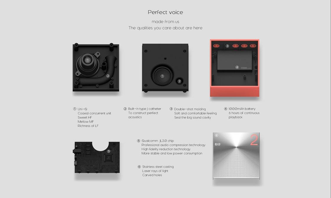 elephone ele box bluetooth lautsprecher im jbl go format. Black Bedroom Furniture Sets. Home Design Ideas