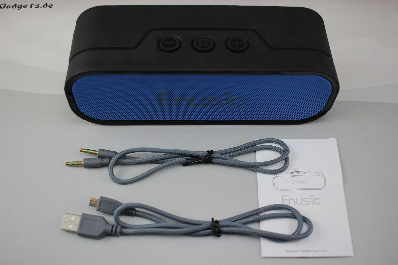 enusic life bluetooth speaker f r 45 38 im test. Black Bedroom Furniture Sets. Home Design Ideas