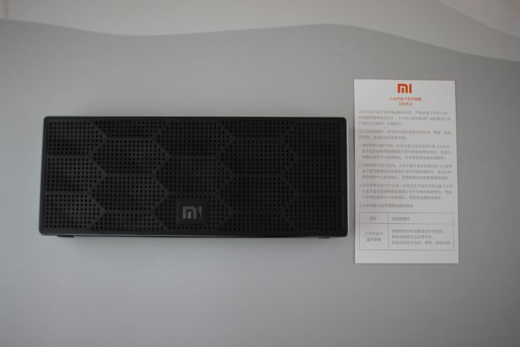 Lieferumfang Xiaomi Soundbox