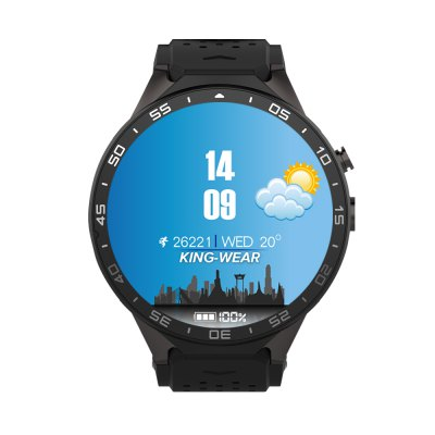 kingwear-kw88-3g-smartwatch-display
