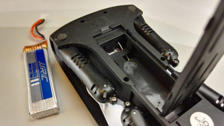Elfie Batteriefach
