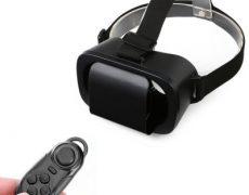 VR Brille mit Bluetooth Controller