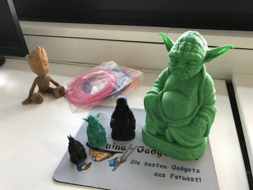 Yoda Buddha 3D-Druck