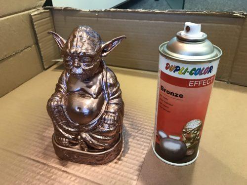 Yoda Buddha 3D-Druck Spray