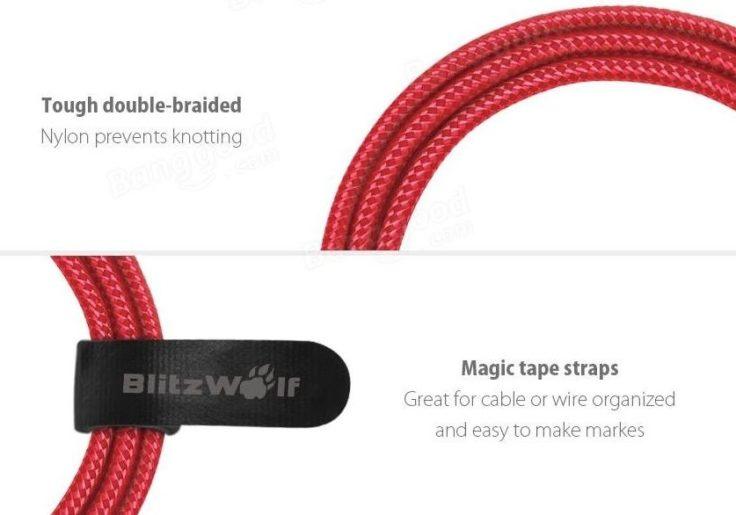 USB-C Kabel von BlitzWolf
