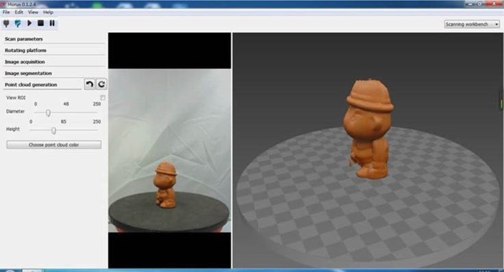 Ciclop 3D-Scanner Software