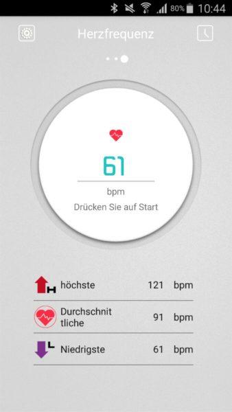 Herzfrequenzsensor
