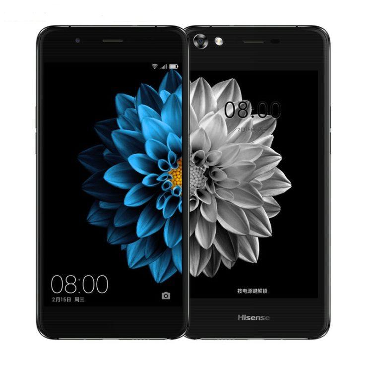 Das Hisense A2 Smartphone hat einen 5,14 Zoll großes HD-Display.