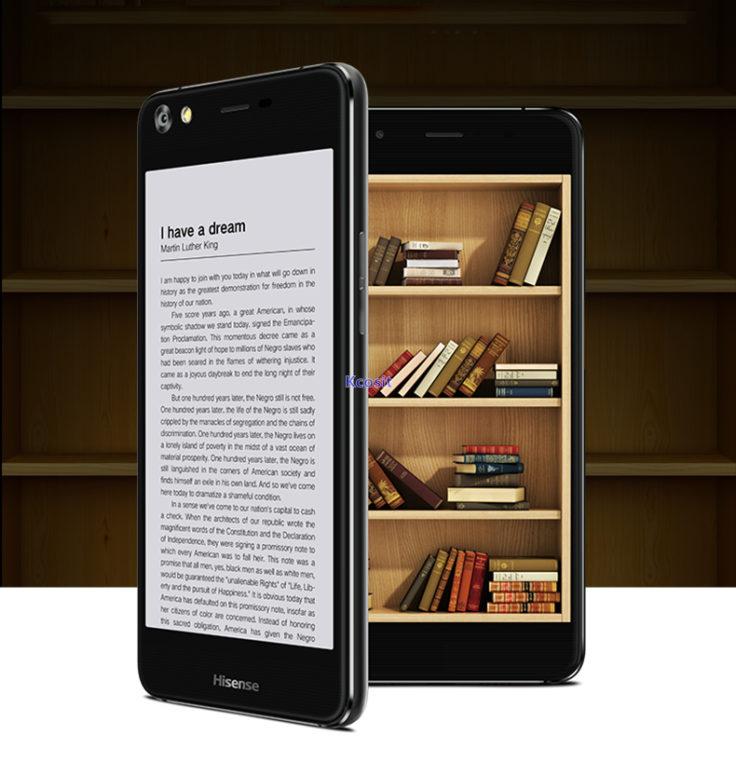"""Das Hisense A2 als """"E-Reader"""""""