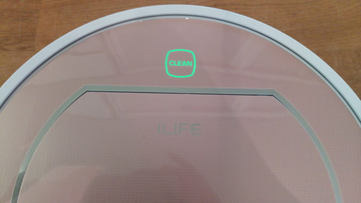 ILIFE V7S Pro Saugroboter Display