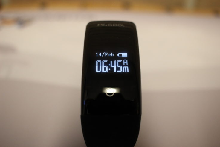 ELE MGCOOL Band 2 Fitnesstracker Display
