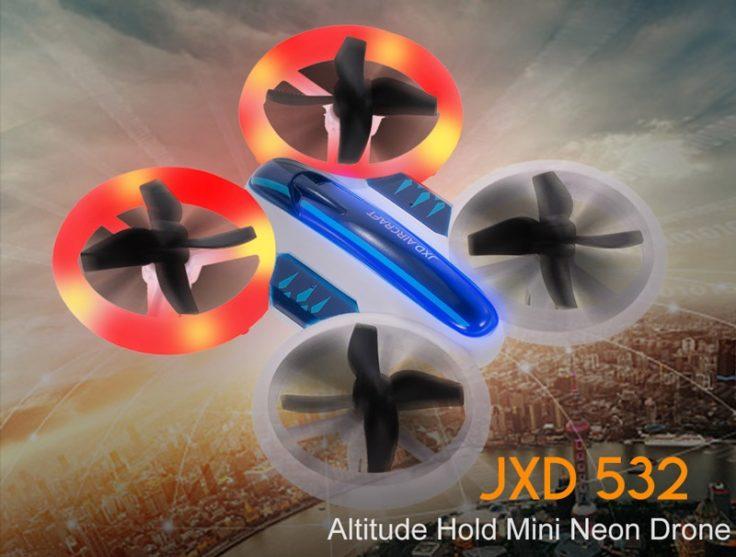 JXD 532 Mini Drohne mit LEDs
