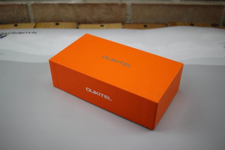 Verpackung des Oukitel U15 Pro Smartphone