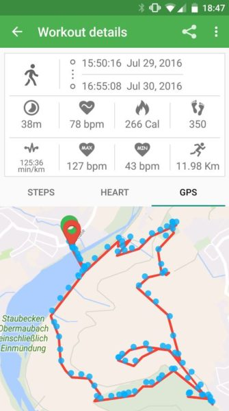 Xiaomi Mi Band 2 Notify Fitness App