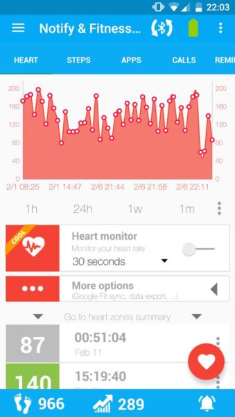 Xiaomi Mi Band 2 Fitnesstracker App5