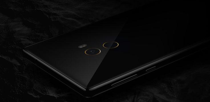 Xiaomi Mi MIX Smartphone Rückseite