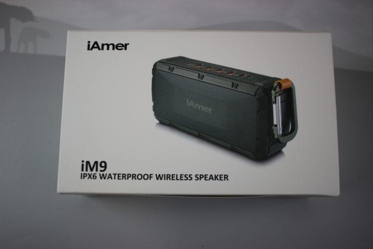 iAmer iM9 Outdoor Speaker Verpackung
