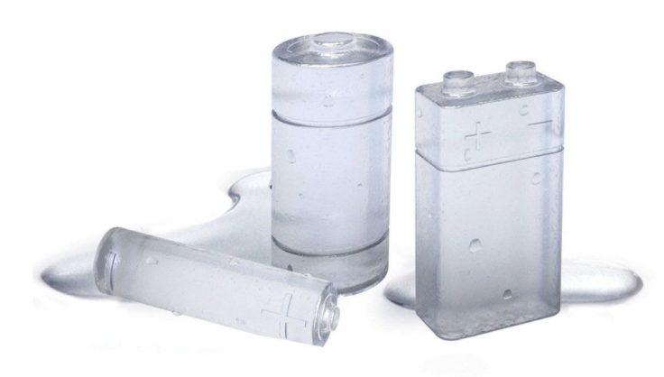 Batterie Eiswürfel Form
