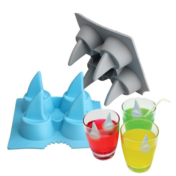 Haiflosse Eiswürfel Form