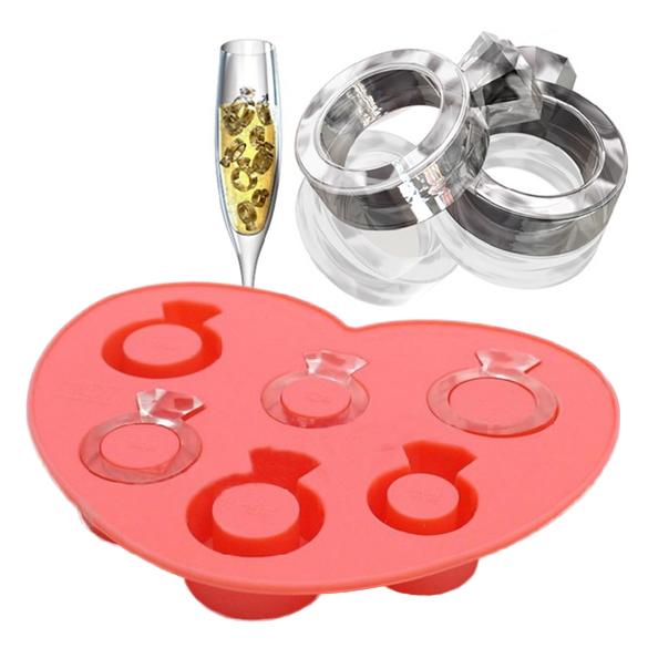 Eiswürfel Form Ring Ehering