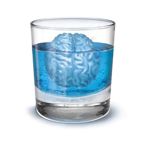 Gehirn Eiswürfel Form