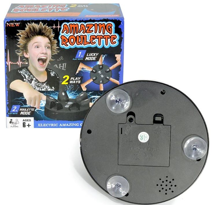 Elektro Shocking Roulette Batteriefach für 3 AAA Batterien