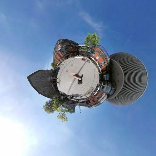 Insta360 Air Planet View Modus