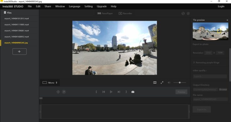 Insta360 Air Insta360 Studio Software