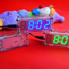 DIY LED Uhr