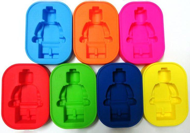 Lego-Figur Eiswürfel Form