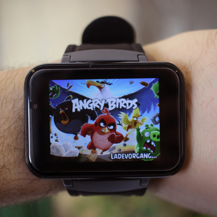 Makibes DM98 Smartwatch Angry Birds