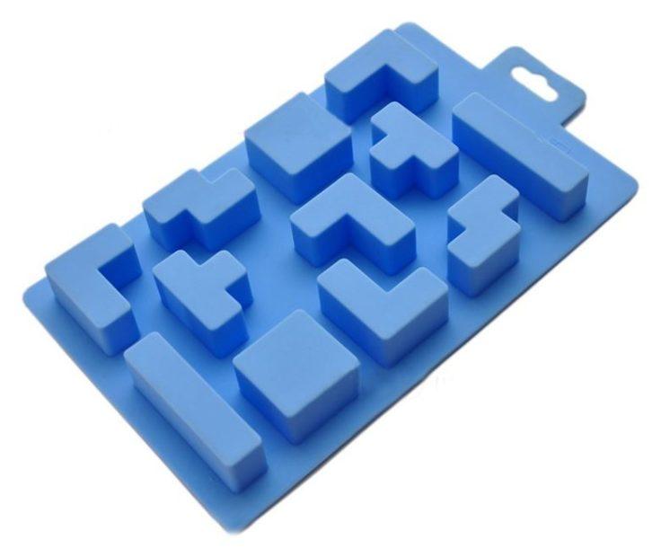 Tetris Eiswürfel Form Tetrominos