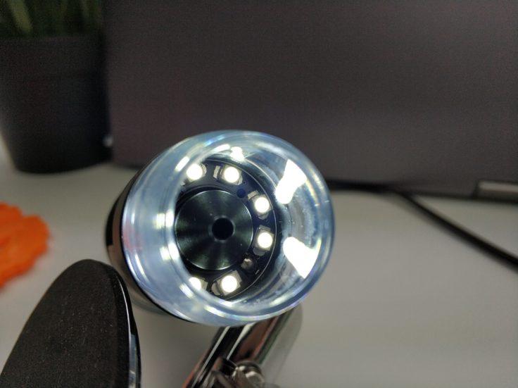 USB Mikroskop LEDs